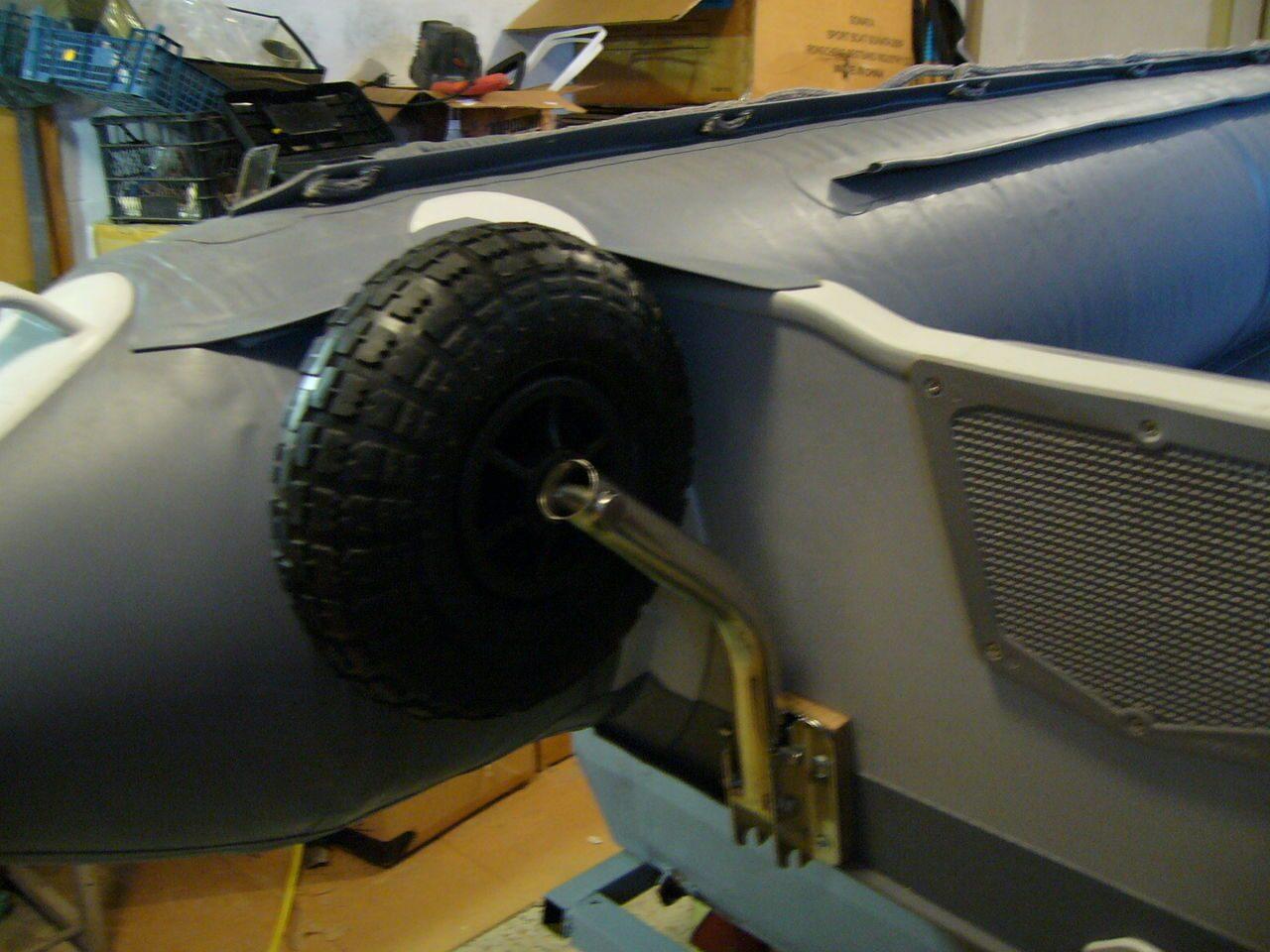 Транцевые колёса для лодок пвх своими руками фото