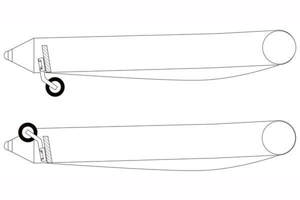 как сделать колеса для лодки чертежи